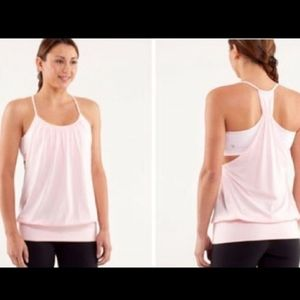 Lululemon No Limits Tank top with built in bra